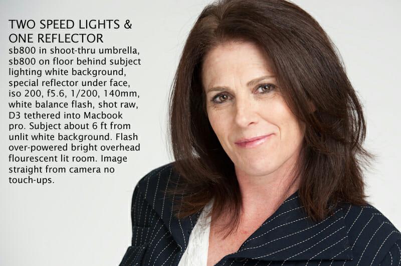Effective Simple Portrait Lighting Techniques  by Mark Lovett